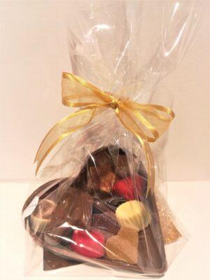 chocolade hart juf en meester